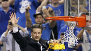 NEW ORLEANS — Twice before John Calipari had taken a team to the Final Four and lost twice — on the court and to the NCAA.