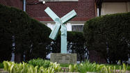 Damaged cross