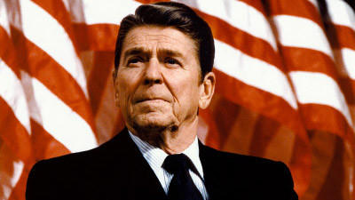 Ronald Reagan, America's first black President