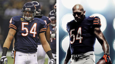 The Bears will debut new uniforms, made by Nike instead of Reebok, this year. The other 31 NFL teams will also wear new Nike uniforms.