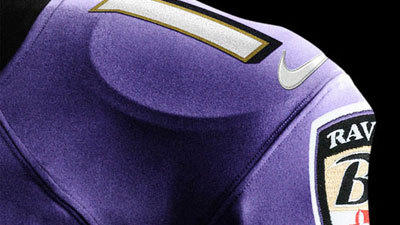New Ravens uniforms
