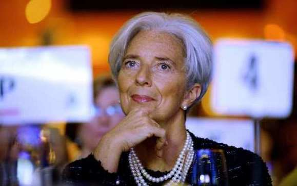 "IMF's Lagarde asks for more ""firepower"" and U.S. involvement"