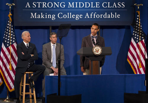 Vice President Joe Biden and Secretary of Education Arne Duncan will travel to Maury High School in Norfolk, Virginia to discuss college affordability.