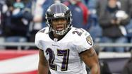The status of the contract negotiations between the Ravens and Ray Rice will loom over the offseason and that will remain true whether the Pro Bowl running back shows up at organized team activities later this month or opts to stay home until a deal is done.