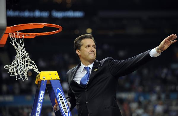Kentucky coach John Calipari has a national title now, but his work is far from done.