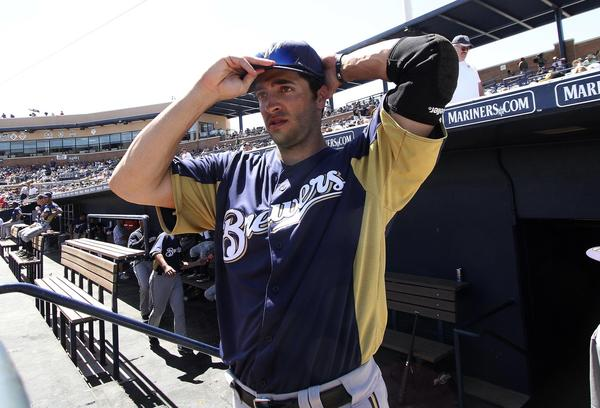 National League MVP Ryan Braun is heading into an interesting season coming off a drug test controversy.