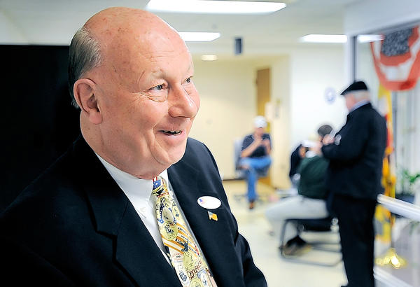 Former Maryland Sen. Don Munson was very pleased with returns from the first few precincts in the Hagerstown City Council race Tuesday night at the at the Washington County Board of Elections.
