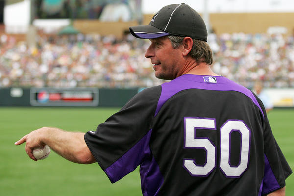 Apparently so, as the Rockies, have slated him as their No. 2 starter. Moyer has had a fascinating career and wants to go at least until he's 50. At least surgery shouldn't hurt his velocity.