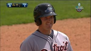 Whitecaps help Tigers beat Mud Hens, 8-3
