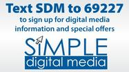 Text SDM to 69227 - Simple Digital Media