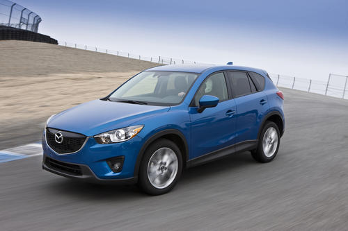 The CX-5 starts at $21,490, and it presents itself as the sporty, fun alternative to a segment dominated by the Honda CR-V, Toyota RAV4, Chevy Equinox and Ford Escape. The company's Zoom-Zoom advertising mantra is actually more than just marketing drivel, and the CX-5 lives up to that claim. Mostly.