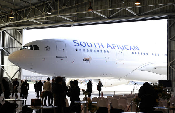 Nonstop service from Johannesburg, South Africa, to New York's JFK airport is a 16 hour trip, 7,970 miles are traversed, which is taken in consideration. In coach, the 2-4-2 seat configuration reduces the number of middle seats that regularly appear on planes with 3-3-3 arrangements. More room, more comfort.