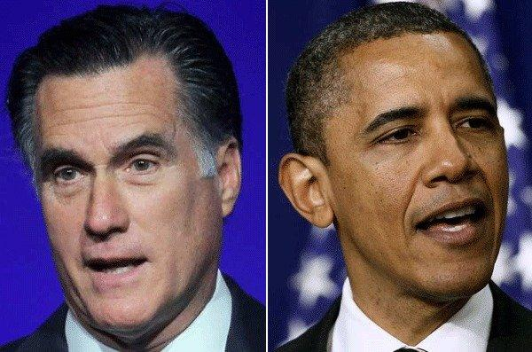 President Obama, right, has painted Mitt Romney as an out-of-touch patrician who doesn't care much about the troubles of hardworking people low on the income ladder. Romney paints Obama as an out-of-touch liberal who doesn't care much about the struggles of honest businessmen who want to create jobs.