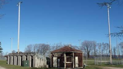Turcott Field, part of Petoskey's city park inventory, is seen Wednesday.