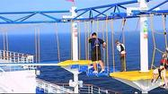 Carnival Breeze video: SportSquare Sky Course