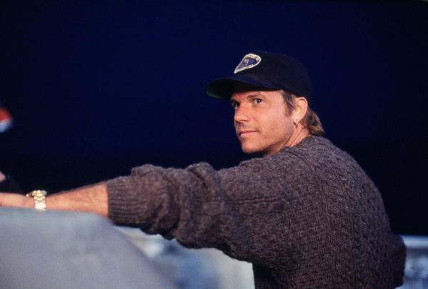 "Bill Paxton plays Brock Lovett in ""Titanic."""