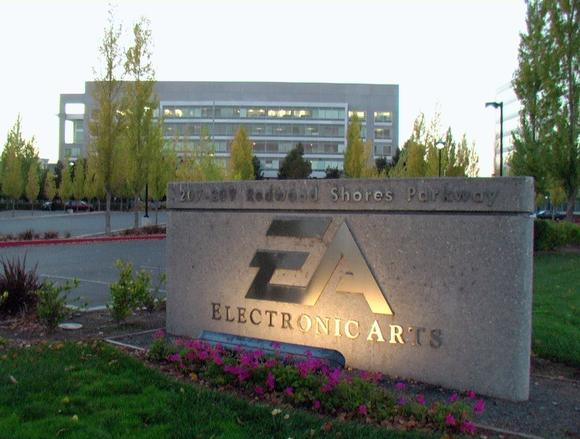 The secret lair of evil, otherwise known as Electronic Arts headquarters.