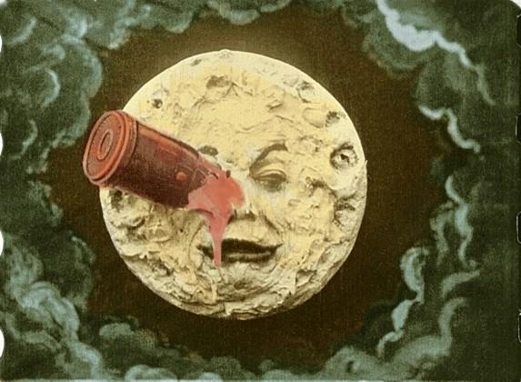 "Still from ""Trip to the Moon."""