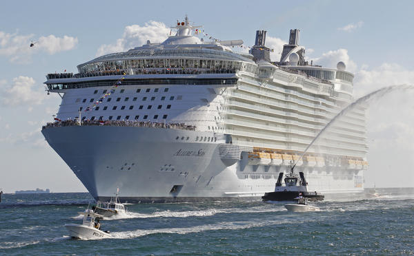 "Royal Caribbean International's cruise ship ""Allure of the Seas."""