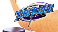Behind a three-goal outing from Alex Bourret, Wichita took a 3-1 lead in its best-of-seven series with a 4-2 win over the Rio Grande Valley Killer Bees Thursday night at State Farm Arena. Wichita can close out the series at home on Saturday night at INTRUST Bank Arena.