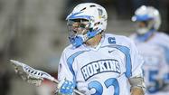 Lacrosse Q&A: Johns Hopkins attackman Chris Boland