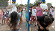 Water fun at Miguel Hidalgo Elementary