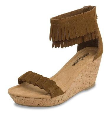 Minnetonka Nicki sandal, $59.95. Available at: Lorin, 1354 Third Street Promenade, Santa Monica, (310) 394-3850.