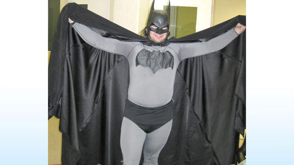 This costume, worn by Mark Wayne Williams of Petoskey, is now being auctioned on eBay.