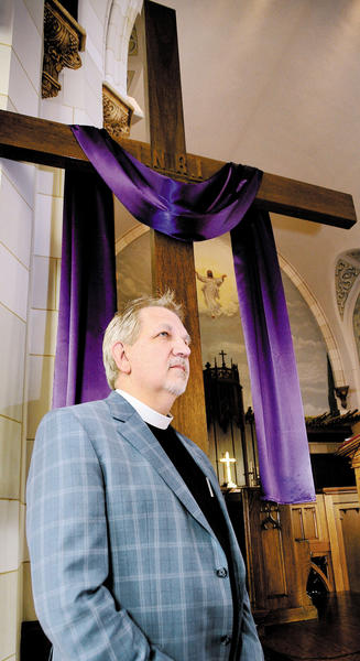Rev. Stan Steele of St. Marks Lutheran Church.