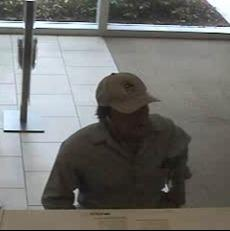 The FBI is looking for the suspect who robbed a Wells Fargo bank in Coral Springs.