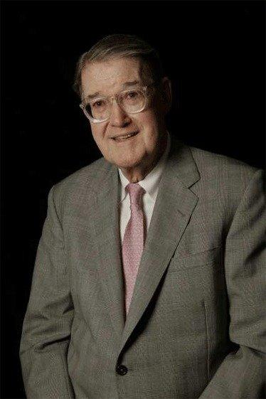 Former Dodgers owner Peter O'Malley poses for a portrait in his Los Angeles office on April 2.