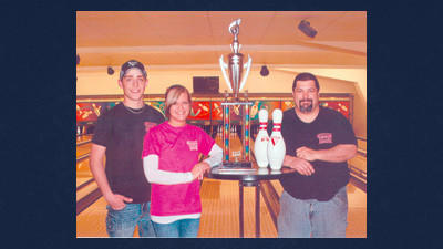 Summit Diner won the Restaurant Challenge league championship. Team members are, from left: Cory Suder, Katrina Gregory and Todd Shaulis.