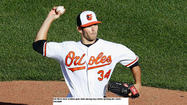 I wanted to see where Orioles right-hander Jake Arrieta's performance Friday ranked among the top Opening Day starts in club history and the good people at Elias Sports Bureau gave me an interesting stat.