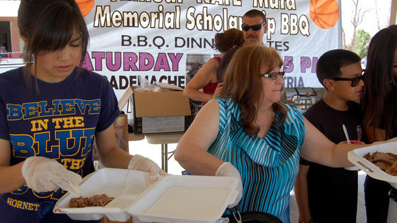 19th annual Nate Mata memorial scholarship barbecue