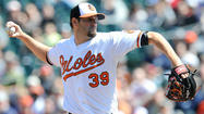 Jason Hammel didn't begin the scoreboard watching until the end of the sixth inning Sunday afternoon. The right-hander took his seat in the Orioles dugout and thought to himself how quickly his first start of the season was going.