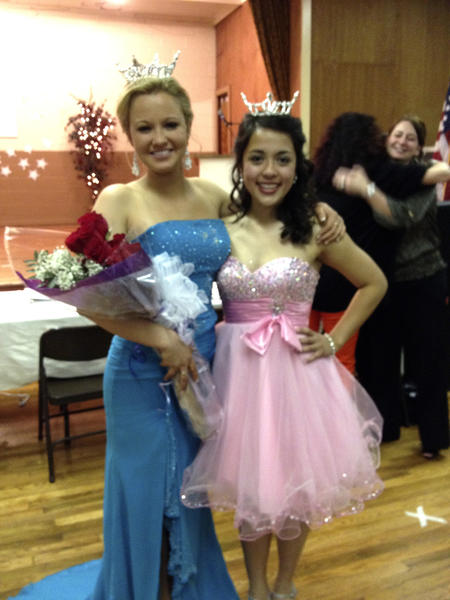 Miss Smithsburg 2012 Lindsay Karroll, left, and Miss Smithsburg Outstanding Teen 2012 Brynn Dao were crowned Saturday night.