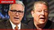 "We had a spirited discussion Sunday on CNN's  ""Reliable Sources"" about Keith Olbermann's suit against Al Gore's Current TV."