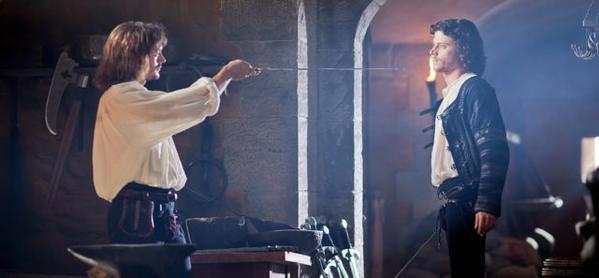 "Brothers Juan (David Oakes) and Cesare (Francois Arnaud) rekindle their rivalry in Season 2 of ""The Borgias."""