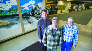 Super City Mall murals capture history