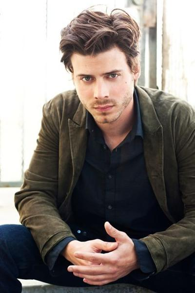 "Francois Arnaud does not have long, curly hair like his ""The Borgias"" character, Cesare."