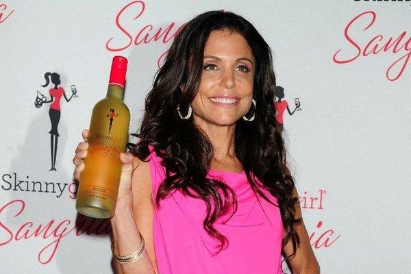 Bethenny Frankel, creator of Skinnygirl Cocktails, at the launch of the sangria beverage. Skinnygirl is leading the spirits industry's growth.