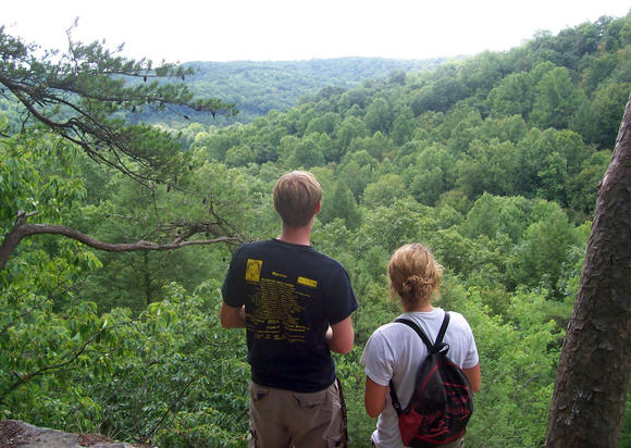 Travel to Hocking Hills State Park in Ohio