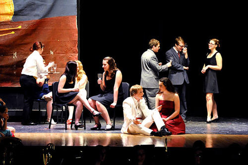 "Northampton High School's musical for the 2012 Freddy awards is ""Big."""