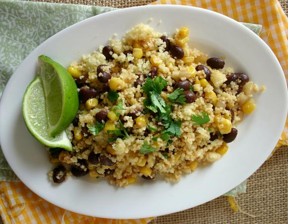 Black Bean and Corn Couscous Salad