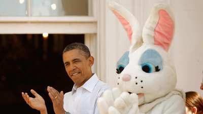 Easter tradition rolls on at the White House