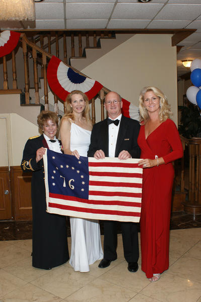 Col. Connie C. Christensen, left, Mayna Lowry, Ralph McGrath and Lynne McGrath at the Broward County Chapter of Freedoms Foundation's birthday party for President George Washington. The event raised nearly $20,000 for scholarships, which will send 36 Broward County students to attend the four-day American Leaders Youth Summits at Valley Forge. To see more photos from Society Scene's Broward edition, visit www.Facebook.com/SocietyScene.