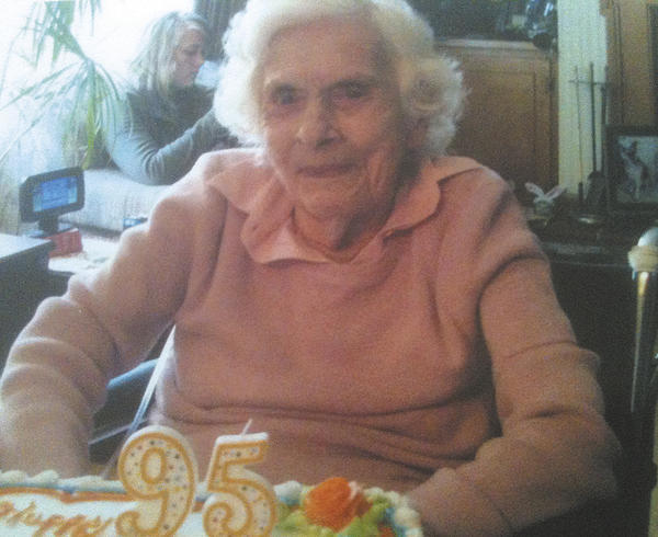 Elsie (Smith) Evans celebrated her 95th birthday March 31 with family and friends.