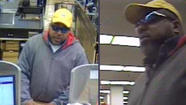 Authorities are seeking a man who robbed a bank in an Alsip grocery store late this morning.