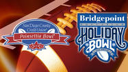 SAN DIEGO -- The Holiday Bowl and Poinsettia Bowl had a combined economic impact of $26.1 million on San Diego last December, barely half of what the college football games generated in some recent years, according to study results released Monday by the San Diego Bowl Association.