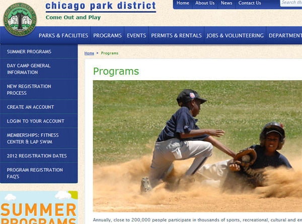 Parents trying to sign up for summer programs complained of long delays and snafus on the Chicago Park District website today.